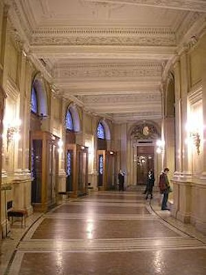 All'interno del Burgtheater di Vienna